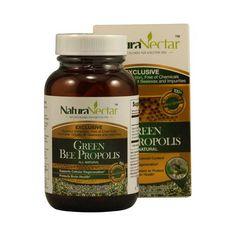 Naturanectar Green Bee Propolis - 60 Capsules