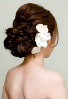Beach Wedding Hair - Reception option?