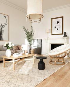 Boho Living Room, Living Room Lighting, Living Room Modern, Living Room Designs, Living Room Decor, Living Room Flooring, Living Room Furniture, Beautiful Living Rooms, Interior Design
