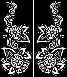 New Temporary Tattoo Glitter Body Art Decal Template Eid Ramadan Mehndi Diy Tattoo, Henna Tattoo Stencils, Folk Embroidery, Machine Embroidery Patterns, Eid Ramadan, Stencil Stickers, Cricut Stencils, Simple Henna, Cute Small Tattoos