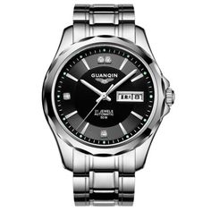 Just US$95.70, buy GUANQIN GJ16055 Men Auto Mechanical Watch online shopping at GearBest.com Mobile.