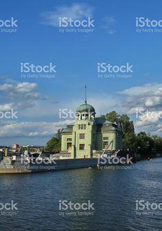 Stvanice island, Prague, Czech Republic royalty-free stock photo