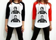 Unisex - Supernatural Mugshot - US TV Series Winchester Brothers Horror Sam Dean Men Women Long Sleeve Baseball Shirt Tshirt Jersey on Etsy, $17.99  Love this!!!!!!!
