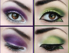 Royal Purple & Nature Green on We Heart It