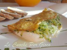 Omelette al Formaggio e Zucchine... mamma se fila!