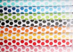 Help me out!!  If I get 21 repins in the next 3 days, I win this fabric!  I love this shop, such cute bundles and FANTASTIC customer service!  Ombre Dots fat quarter bundle--8 pieces---2 yards total--Riley Blake Fabrics. $21.00, via Etsy.