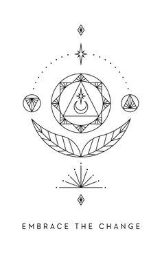 Free Oracle Guidance with Inner Star Oracle Body Art Tattoos, Small Tattoos, Sleeve Tattoos, I Tattoo, Leo Tattoos, Tatoos, Change Symbol, Journey Tattoo, Change Tattoo