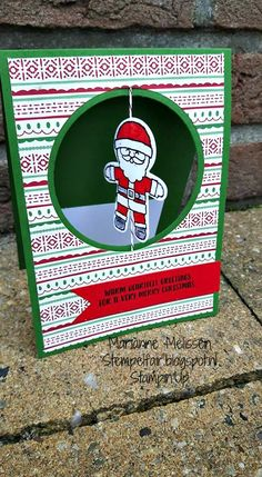 Stempelfair Stampin' Up Cookie cutter christmas