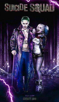 Joker, Harley; Suicide Squad. (Batman)
