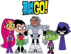 #Teen #Titans #Go. (Titans Go!: Team Photo) By: Imperial96.