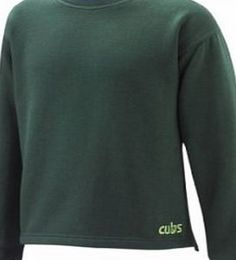 Scoutshops Cub Sweatshirt Size 30 Cub Scout official uniform bottle green sweatshirt. New style with purple around collar and badge logo near hem. (Barcode EAN = 5055053052587). http://www.comparestoreprices.co.uk/boys-clothing/scoutshops-cub-sweatshirt-size-30.asp
