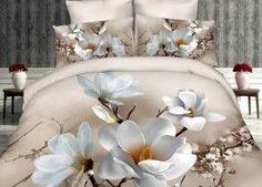 Lenjerie de pat 3D digital print, Ralex Pucioasa, White Magnolia Bedspreads, Magnolia, Digital Prints, Bed Pillows, Pillow Cases, 3d, Table Decorations, Furniture, Home Decor