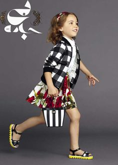 Dolce & Gabbana, Dolce And Gabbana Kids, Fashion Kids, Little Girl Fashion, Little Fashionista, Stylish Kids, Kid Styles, Kind Mode, Kids Wear