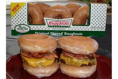 Donuts Burger... You haven't experienced life if you haven't had one of those