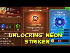 Carrom Disc Pool | Unlocking Neon Striker | Color Season | Eby Roy - YouTube All Games, Games To Play, Carrom Board Game, Unlock Iphone Free, Fifa Online, Green Screen Photo, Pool Coins, Pool Hacks, Fc Chelsea