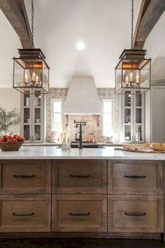 34 Stunning Farmhouse Kithen Remodel Ideas
