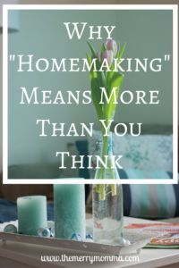 When you hear the word homemaking, do you think of cleaning or 50's housewives?…
