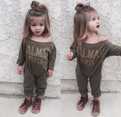 Find images and videos about fashion, style and baby on We Heart It - the app to get lost in what you love. Little Girl Fashion, Toddler Fashion, Toddler Outfits, Kids Outfits, Kids Fashion, Baby Kind, My Baby Girl, Baby Love, Toddler Girl Hair