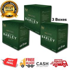 3 Boxes of Amazing Pure Organic Barley Colon Problems, Thyroid Problems, Barley Benefits, Genetic Abnormalities, Childhood Asthma, Cells And Tissues, Immune System Boosters, Green Superfood