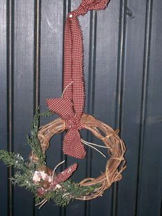 grapevine wreath idea