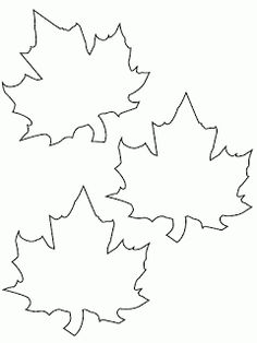 Fensterbilder Herbst basteln – 25 Ideen und Vorlagen zum Ausdrucken Template for printing and coloring – three autumn leaves Felt Crafts, Diy And Crafts, Crafts For Kids, Arts And Crafts, Paper Crafts, Autumn Crafts, Holiday Crafts, Fall Halloween, Halloween Crafts