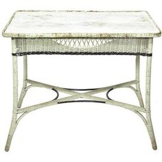 I Have A Wicker Table Similar To This But The Top Is Kidney Shaped!!