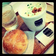 [ヴィシソワーズ*2011/07/27]    ヴィシソワーズ꒰ᴖ͙◡ुᴖ͙꒱     @Soup Stock TOKYO