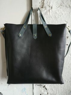 black and gray woodsman tote von fluxproductions auf Etsy, $380.00