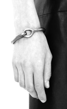 Acne Studios   Knot bracelet Corrine silver