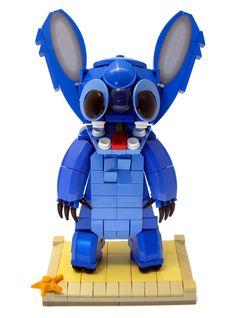 Stitch LEGO creation
