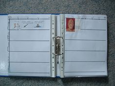 instructions for homemade timeline book