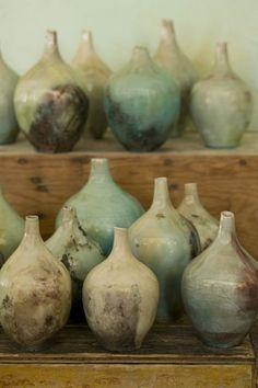 artpropelled: Raku vases