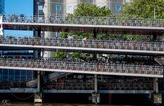 bicycle parking / fietsflat (Amsterdam)