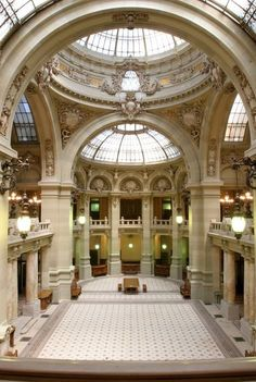 **French architects in Bucharest** Arch. Paul Gottereau - The CEC Palace Eclectic style), Bucharest, Romania Historical Architecture, Art And Architecture, Architecture Details, Beautiful Castles, Beautiful Buildings, Bulgaria, Visit Romania, Bucharest Romania, Parks