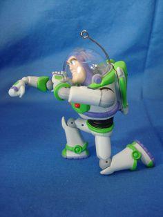 Buzz Lightyear Ornament Figurine Disney Toy Story Hallmark 2006 #Hallmark