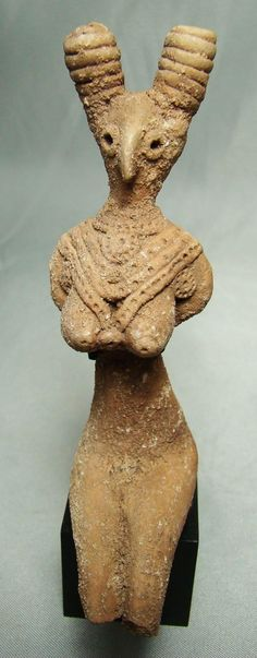 Mohenjo-Daro 2700-2400BCE bird headed goddess