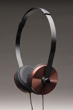 NIXON APOLLO 3-BUTTON MIC HEADPHONES @ Jack Threads  //  amazing textured surface on ear cup