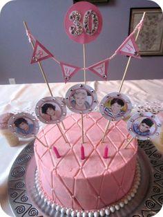 The Aimée Way: Ruth's 30th Birthday One Direction Cake