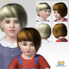 Emma's Simposium: Free Hair Pack #208 By PeggyZone - Donated/Gifted ...