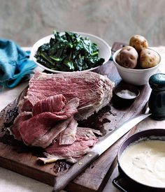 Corned beef with Soubise sauce - Gourmet Traveller