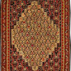 Sena Kurdish Hand Knotted Killim Size: M x M Knots, Bohemian Rug, Rugs, Home Decor, Farmhouse Rugs, Decoration Home, Room Decor, Knot, Carpets