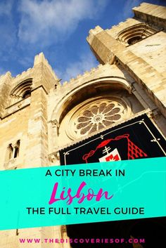 Things to do in Lisbon, the full travel guide. Explore Lisbon with this guide to the city's best restaurants, bars, sights and attractions. The perfect city break in Portugal.
