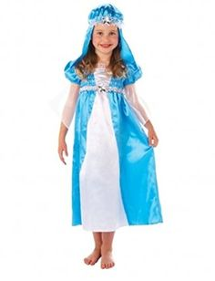 Fancy Dress Party Christy's Girl Mary Costume Xmas Nativity Kids Complete Outfit -- Read review @ http://www.amazon.com/gp/product/B01DPNEQPS/?tag=christmas3638-20&pfg=011016062150