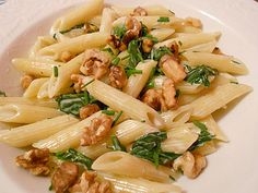chopped walnuts (adjust according to taste) - 12 oz uncooked penne ...