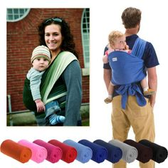 BABY SLING STRETCHY WRAP Ideal BREASTFEEDING- BIRTH -3 yrs