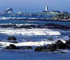san luis obispo, ca View of Piedras Blancas Lighthouse