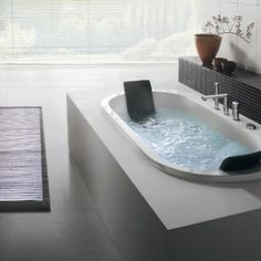 modern grey bathroom designs with white jacuzzi