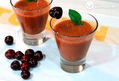 Gazpacho de cerezas - Recetasderechupete.com