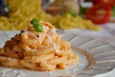 Spaccatelle con pesto alla siciliana