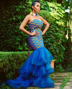Collection of the most beautiful and latest ankara aso ebi styles and designs of 2018 you must try if you love something aso ebi African Print Dresses, African Fashion Dresses, African Dress, Fashion Outfits, African Outfits, African Prints, African Clothes, African Lace, Women's Fashion